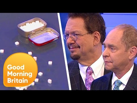 Penn and Teller Dazzle Piers and Susanna With Minty Magic Trick | Good Morning Britain