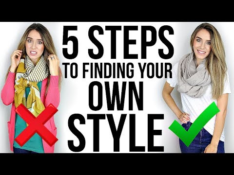 5 STEPS To Finding Your OWN STYLE!