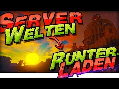 ➤ Minecraft SERVER WELTEN RUNTERLADEN! ◄  Alle Server, ohne Admin ▽ 1.7.2 Download German Deutsch