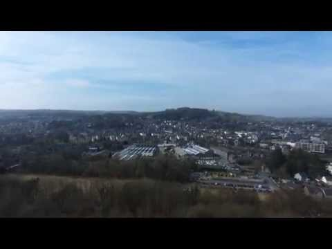 Kendal Castle Drone Video in the Lake District
