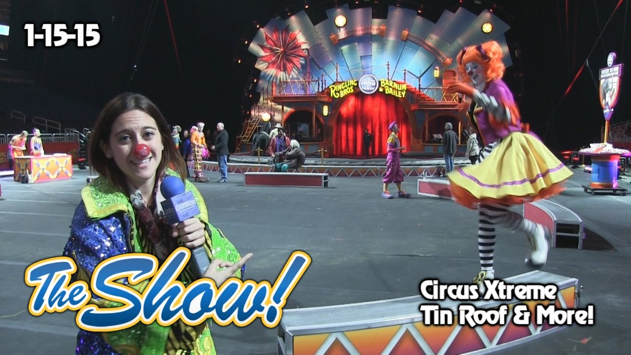 Attractions The Show Circus Xtreme Tin Roof Orlando