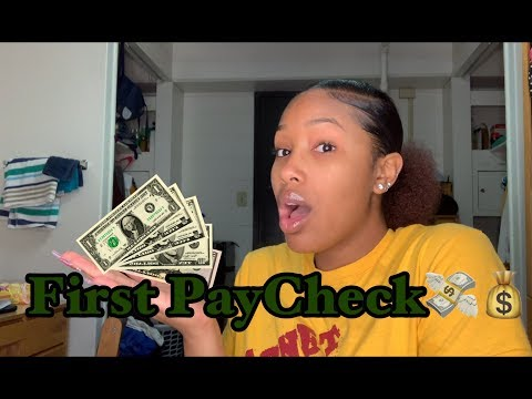 My First Youtube Paycheck And How Much I Made | Small Youtuber 2019