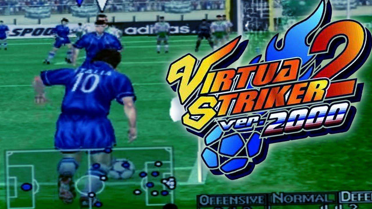 Virtua Striker 2 Gameplay La Joya De Los Juegos De Futbol Arcade