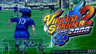 Virtua Striker 2 Gameplay | LA JOYA DE LOS JUEGOS DE FÚTBOL ARCADE