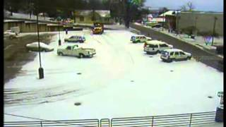 Dump Truck Falls Through Parking Deck Video.flv