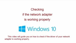 Enable or disable a network adapter in Windows 10