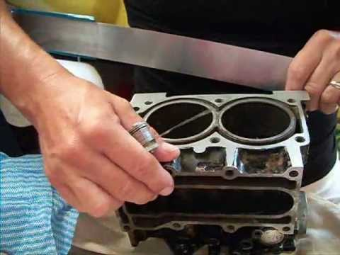 Johnson 15 Outboard Cylinder Head Repair