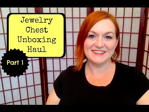 Jewelry Haul Part 1- Huge Jewelry Chest Unboxing - How I Make Money Selling Online