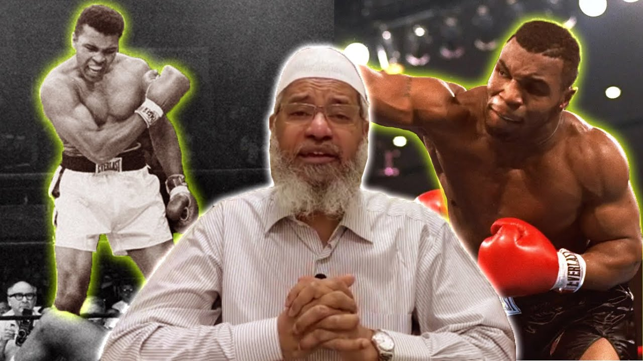 د.ذاكر نايك (محمد علي ومايك تايسون) /The secret of how Muhammad Ali and Mike Tyson became Muslims