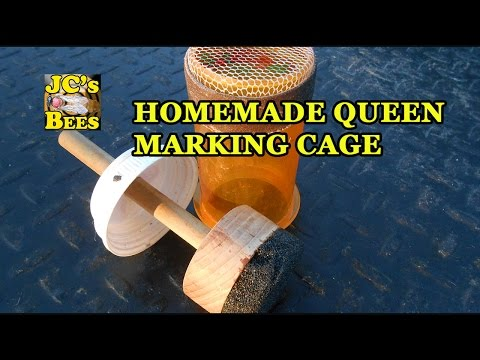 homemade-queen-marking-cage