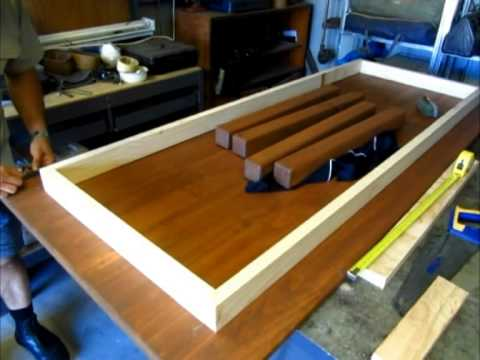 Building A Basic Table Computer Desk Part 3