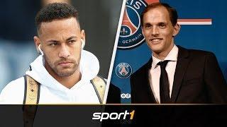 Neymar mit erster Forderung an PSG-Coach Tuchel | SPORT1 - DER TAG