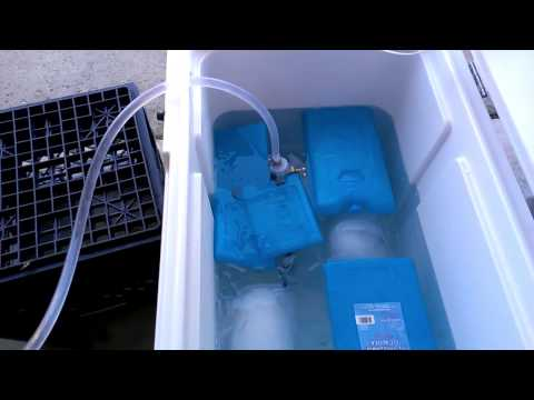 Cool Wort with an Immersion Chiller - the Fast Way