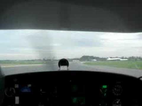 hard landing in 24R EGCC