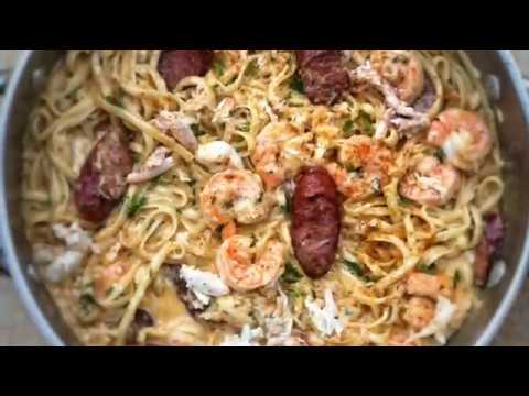 THE BEST SEAFOOD  BOIL PASTA!!!