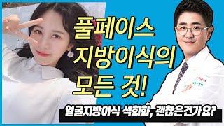 압구정성형외과) 얼굴지방이식수술, 붓기, 유지기간, 후…