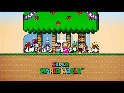 Super Mario World - Até Zerar !