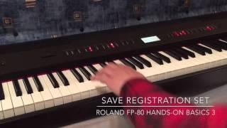 roland fp 80 hands on basics 3