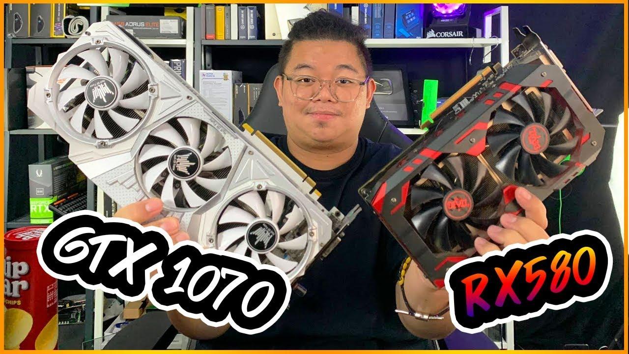 กูไม่รู้! RX 580 8GB VS GTX 1070 ไดร์ฟเวอร์ล่าสุด สู่ปี 2020 ใครแรงกว่ากัน? l ADBIG l