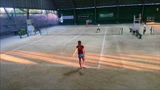 Anna Philta Alabang 1st round 12u match