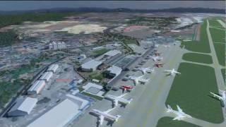 Visualisation Penang International Airport