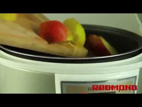 Компот из свежих яблок в мультиварке редмонд