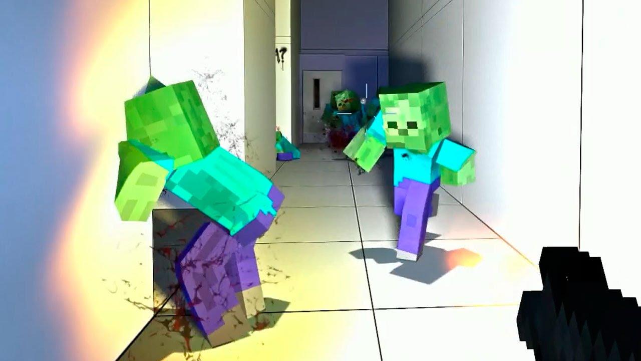 Locura Zombie Willyrex Y Staxx Minecraft Mod Left 4