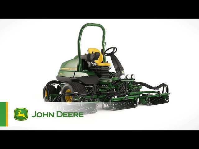 The John Deere 8900A PrecisionCut Fairway Mower