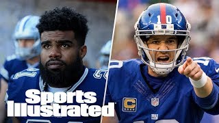 What's Wrong With The Giants? Is Ezekiel Elliott Letting Cowboys Down? | PFN | Sports Illustrated