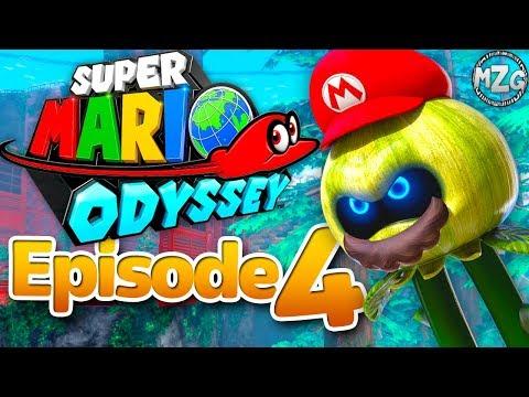 Wooded Kingdom! Saving Steam Gardens! - Super Mario Odyssey - Episode 4