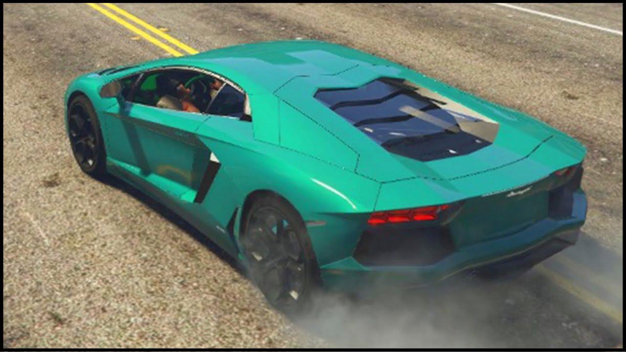 Gta New Lamborghini Aventador Supercar In Gta Gta Mods