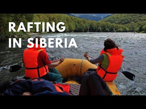 Rafting in SIberia - Adventure Travel in Russia and Siberia