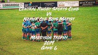 Central Rugby Vs Napier Old Boys Marist G6 Maddison Trophy 2019