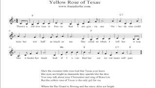 Yellow Rose of Texas - instrumental
