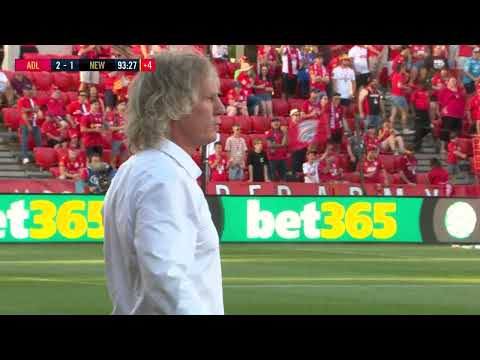 Hyundai A-League 2019/20: Round 9 - Adelaide United v Newcastle Jets (Full Game)