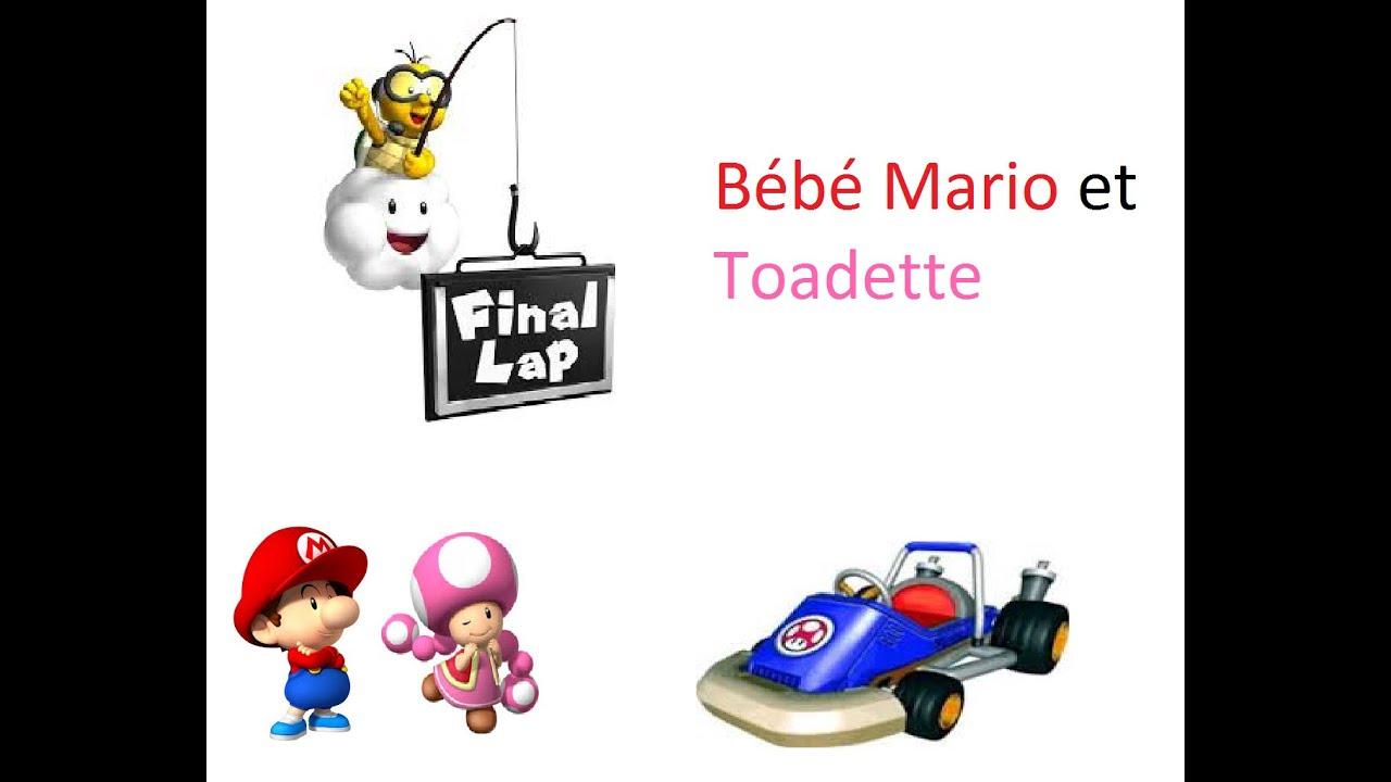 mario kart double dash bb mario et toadette - Bebe Mario