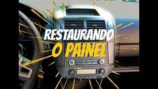 TIRANDO EMBORRACHADO / PINTANDO PAINEL CENTRAL VW POLO