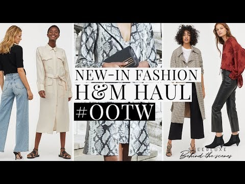 New-In Fashion H&M Haul & Outfits Of The Week | SheerLuxe Behind-The-Scenes S7 Ep5