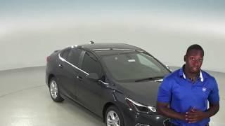183030 - New, 2018, Chevrolet Cruze, LT, Sedan, Gray, Test Drive, Review, For Sale -
