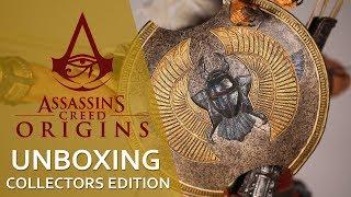 🎁 UNBOXING ASSASSIN'S CREED: ORIGINS | Распаковка коллекционки