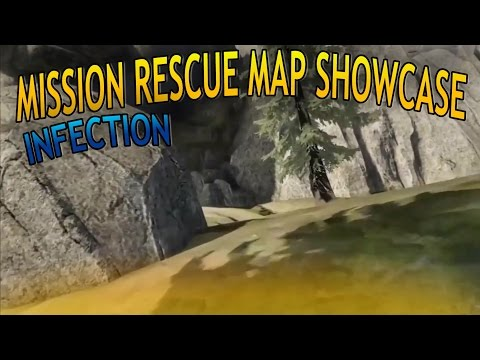 Halo 5 - Mission Code Rescue (INFECTION CUSTOM GAMES MAP SHOWCASE)