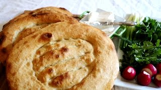 Armenian Flatbread Matnakash Recipe - Մատնաքաշ - Heghineh Cooking Show