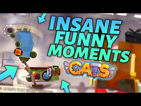 C.A.T.S INSANE FUNNY MOMENTS & BEST BATTLES - Epic Montage Crash Arena Turbo Stars