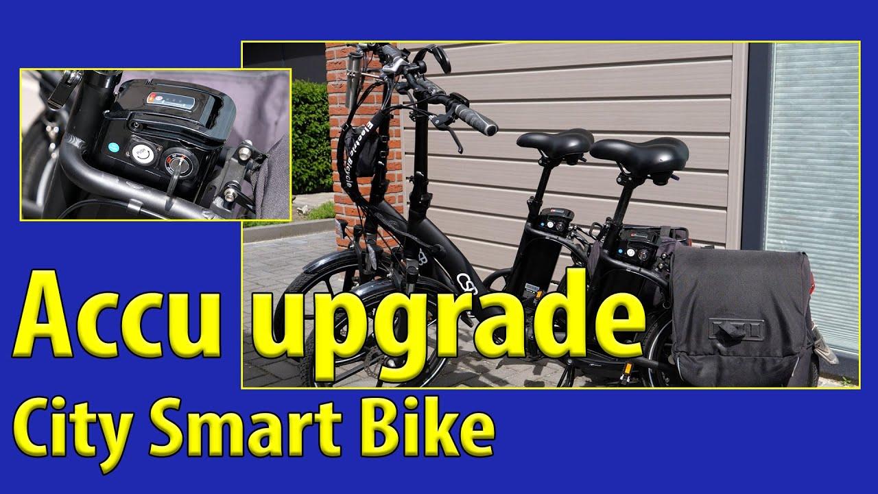 Camper TV 236 City Smart Bike accu upgrade