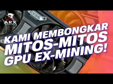 MEMBONGKAR MITOS VGA BEKAS MINING | Test VGA ex-mining