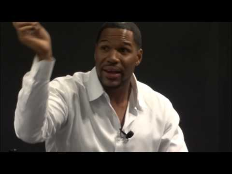Lamborghini of Beverly Hills Customer Event: Michael Strahan interviewed by Jim Hill.