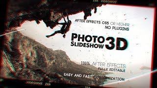 Photo Slideshow 3D | After Effects template | videohive slideshow
