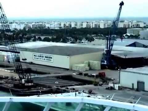 ROYAL CARIBBEAN- SOVEREIGN OF THE SEAS - @ PORT CANAVERAL, FLORIDA