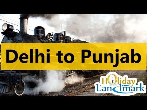 Travel VLog - Delhi to Punjab by Train