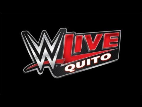 RAW QUITO ECUADOR 2016  WWE